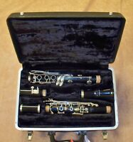 BUESCHER CLARINET & CASE GOOD CONDITION - JUST SERVICED-FREE SHIPPING