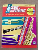 ACCENT ON ACHIEVEMENT FOR B CLARINET BOOK 2 **BRAND NEW**
