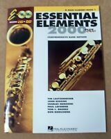 ESSENTIAL ELEMENTS FOR BAND B BASS CLARINET BOOK 1 CDs INCLUDED **BRAND NEW**