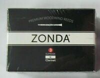 New Zonda ZC1030 3 Strength Supreme Reeds for Bb Clarinet, Box of 5