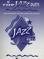 15 TOP JAZZ DUETS MUSIC BOOK FOR CLARINET BRAND NEW ON SALE SONGBOOK VERY RARE