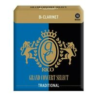 Rico By D'Addario Reed Grand Concert Select Traditional Clarinet Sib Mis 3,5 C