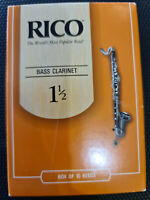 Rico Royal - Old Packaging New Stock - Bass Clarinet #1.5 10 Pack