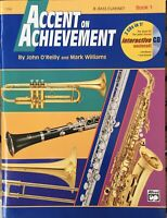 Accent On Achievement With 2 Cds - Book 1 - Bass Clarinet