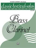 Alfred Classic Festival Solos (B-flat Bass Clarinet), Volume 2 Solo Book