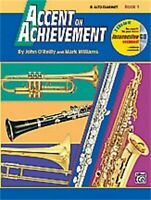 Alfred Accent on Achievement Book 1 for Eb Alto Clarinet (Book and CD)