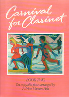 CARNIVAL FOR CLARINET BOOK 2 With Piano Accompaniment Sheet Music Book