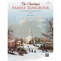 The Christmas Family Songbook - By various composers and arrangers