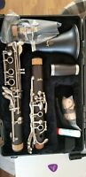 CLARINET BROWN GRENADILLA WOOD NEW, NEW, NEW. FACTORY CLOSEOUT 50% OFF RETAIL