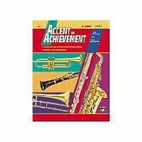 Alfred Accent on Achievement Book 2 for Bb Bass Clarinet (Book and CD)