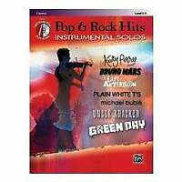 Alfred Pop & Rock Hits Instrumental Solos-Clarinet (Book and CD)