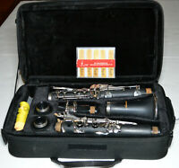Anaxa Student Concert Band Clarinet With Case/Reeds