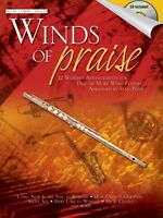 Winds of Praise for Flute Oboe or Violin Book and CD NEW 035025935