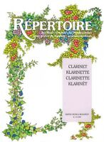 Repertoire for Music Schools Clarinet with Piano Accompaniment NEW 050485778