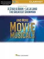 Songs from La La Land and The Greatest Showman Clarinet Songbook 000287958