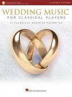 Wedding Music for Classical Players Clarinet and Piano With Audio 000261623