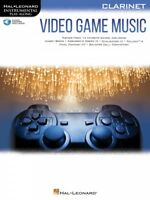 Video Game Music for Clarinet Instrumental Play-Along Book and Audio 000283878