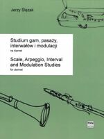 Study of Scales Arpeggios Intervals and Modulations Clarinet PWM Book 000291070