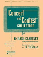 Concert and Contest Collection for Bb Bass Clarinet Solo Book 004471650