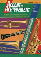 Accent on Achievement-Bb Clarinet instruct bk3, by John O'Reilly & Mark Williams