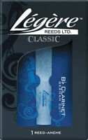 Legere Classic Series Bb Clarinet German Cut Synthetic Reed 4 hardness