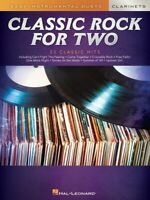 Classic Rock for Two Clarinets Easy Instrumental Duets Book NEW 000303027