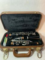 Vintage Pathfinder Clarinet With Brown Carrying Case