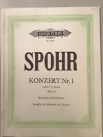 Spohr Konzert No.1 in C minor, Opus 26 for Clarinet and Orchestra