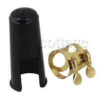 Gold Plated & Plastic Ligature And Cap For Bb Clarinet
