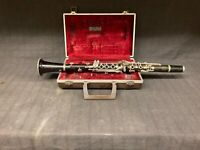 Mixed Matched Clarinet w/ Case-Sold as is