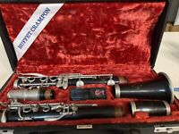Wooden Buffet Crampon Clarinet E45 With B45 Lablanc Mouthpiece Intermediate