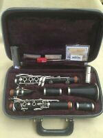 Vintage Henri SELMER PARIS SERIES 9 Bb CLARINET w/ Mouthpiece & Case & Reeds