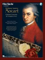 Mozart Clarinet Concerto in A Major K. 622 Music Minus One Clarinet 000400047