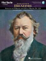 Brahms Sonatas in F Minor and E-flat Op. 120 Music Minus One Clarinet 000400046