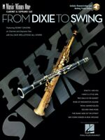 From Dixie to Swing Music Minus One Clarinet or Soprano Sax 000400613