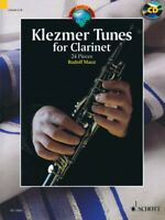 Klezmer Tunes for Clarinet 24 Pieces Woodwind Book and CD NEW 049044738