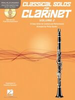 Classical Solos for Clarinet Vol 2 - 15 Easy Solos Sheet Music 000121138