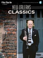 New Orleans Classics Music Minus One Clarinet Book NEW 000400024