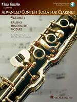 Advanced Contest Solos for Clarinet Volume I Music Minus One Clarinet 000400630