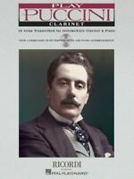 Play Puccini 10 Arias Transcribed for Clarinet and Piano Instrumental 050484650