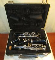 Bundy Selmer 577 Resonite Clarinet with Case and S Mouthpiece