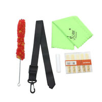 Clarinet Cleaning Maintenance Kit Brush Cleaning Cloth Cork Grease Reeds