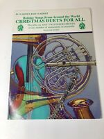 B flat Clarinet Bass Clarinet Holiday Songs from Around the World Christmas Duet