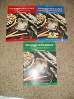 STANDARD OF EXCELLENCE Bruce Pearson Book 1 2 3 Eb Alto Clarinet SET with CD