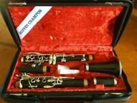 BUFFET CRAMPON clarinet with case Good condition