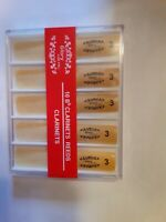 Glory clarinet reeds size 3, set of 10 in plastic case