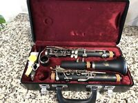 Jupiter Clarinet Capitol Edition w/ Hard Case- Gently Used Condition