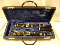SELMER PARIS SERIES 9 PRO KEY OF A CLARINET GRANADILLA WOOD NICKEL KEYS NICE