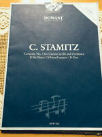 Dowani - C. Stamitz Concerto No.3 for Clarinet in Bb and Orchestra B Flat Major