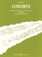 Concerto for Oboe and Orchestra for Oboe & Piano Reduction